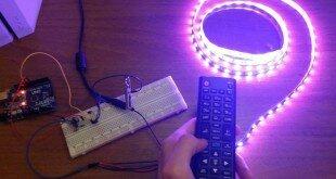 Управление светодиодной лентой ТВ пультом